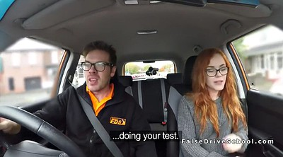 Car, School, Car fuck, Ffm amateur, Driving school