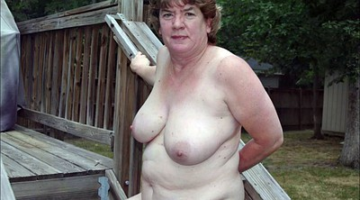 Nudes, Hairy mature, Outside, Outdoor hairy