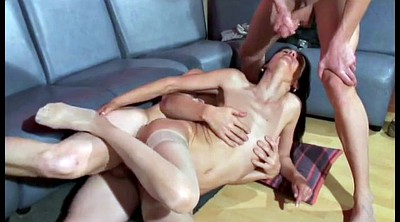 French anal, Amateur dp, Casting french
