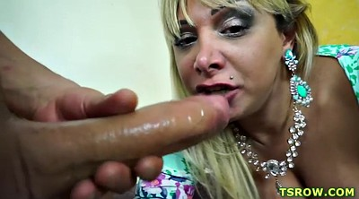 Tranny big cock, Latina shemale