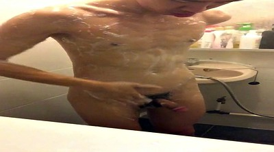 Asian gay, Asian handjob, Shower