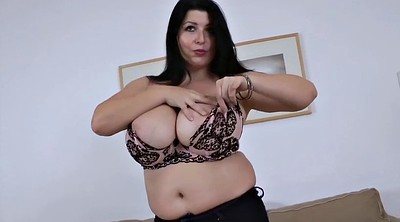 Monster tits, Chubby solo