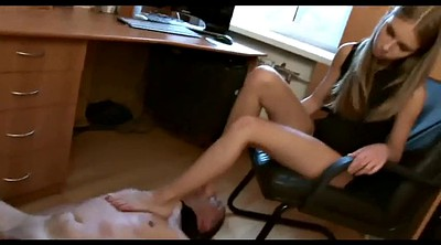 Femdom foot, Office foot, Mistress foot