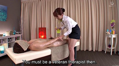 Japanese massage, Subtitles, Yui, Subtitled, Bottomless