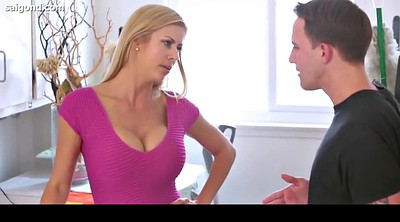 Alexis fawx, Teen son, Blonde milf