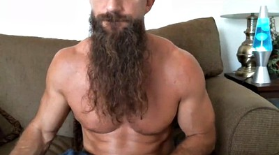 Milf, Beard, Gay muscle, Muscle solo