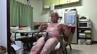 Japanese granny, Big nipples