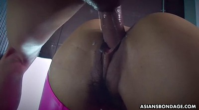 Hairy creampie, Japanese bdsm, Fingered