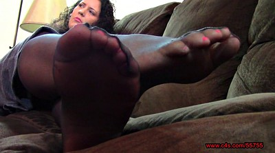 Nylon feet, Pantyhose feet, Bbw foot, Bbw feet