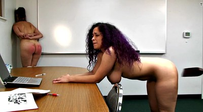 Spanked, Teacher spank, Voluptuous