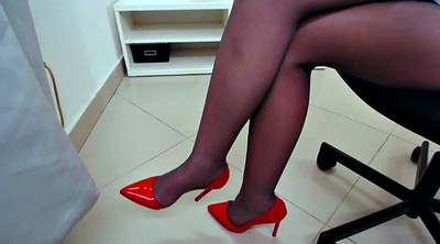 Pantyhose, Pantyhose feet, Pantyhose foot, Teasing, Hot feet, Fetish pantyhose