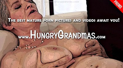 Blow, Hairy mature, Grandma