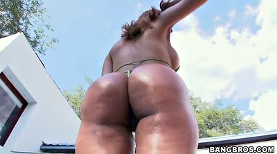 Bikini, Colombian, Thick ass