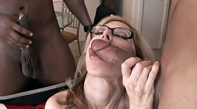 Mature interracial anal, Mature double