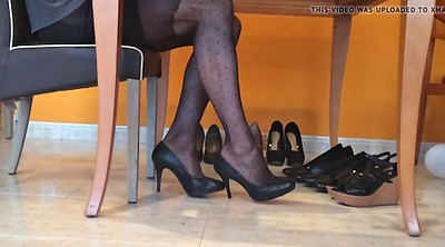 Pantyhose nylon, Nylons, Pantyhose foot, Nylon pantyhose, Foot nylon, Fetish heels
