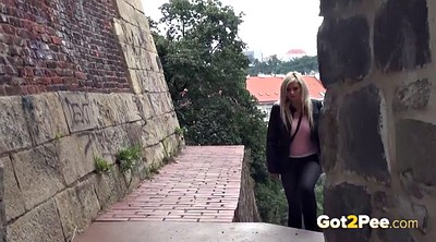 Compilation outdoor, Pee panties, Pee compilation, Blonde compilation