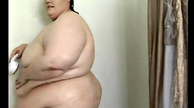 Shower, Bbw mature