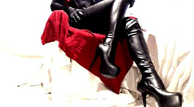 Latex bdsm, Thigh boots