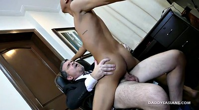 Asian daddy, Old gay, Old daddy gay, Old asian, Bareback