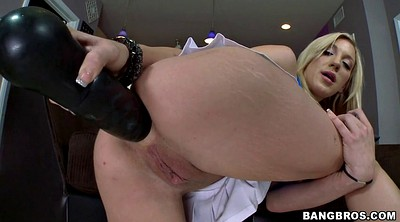 Huge dildo anal, Amy