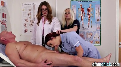 Cfnm, Doctor, Group, Cfnm handjob, Doctor handjob, Nurse handjob