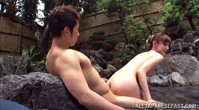 Hot spring, Japanese couple, Spring, Outdoor japanese, Japanese outdoor