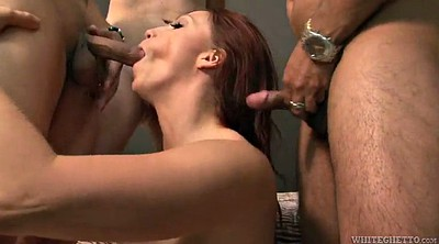 Smoking, Mature gangbang