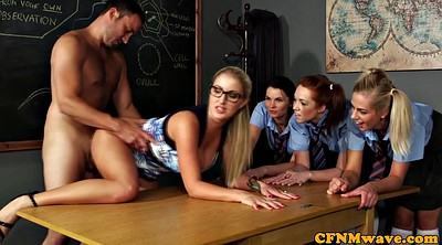 Teacher, Cfnm, Hole, Glory hole