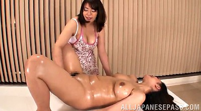 Chubby, Natural, Asian lesbians, Massage asian, Nature, Lesbian oil massage