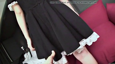 Uncensored, Japanese uncensored, Japanese subtitle, Japanese maid, Japanese cosplay, Subtitle