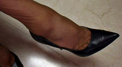 Office feet, Nylon feet, Shoe, Office foot, Nylon foot