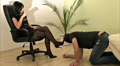 Foot slave, Humiliated