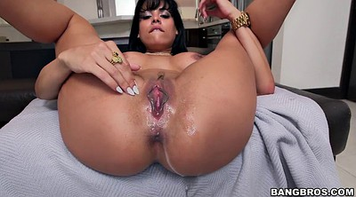 Latina ass, Big tit creampie