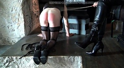 Boots, Spanks, Leather boots