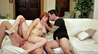 Double anal, Redhead anal, Shoot, Close up