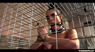 Lola, Bound, Helpless, Cage