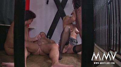 Group mature, Mature big tits, Films, Cage