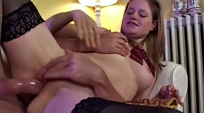 Old couple, Lesson, Old anal