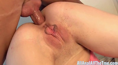 Double penetration, Teen anal creampie