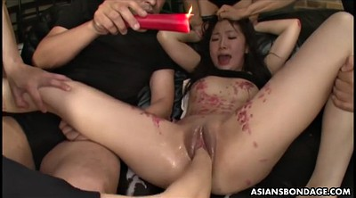 Bondage, Asian fisting, Japanese fisting, Japanese fist, Asian fist, Wax