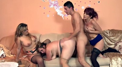 Three, Big women, Mature women