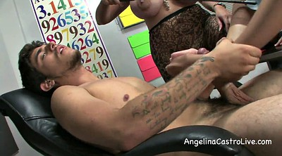 Teacher threesome, Milf feet, Bbw foot, Angelina