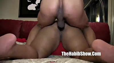 Monster, Tear, Monster dildo, Ebony dildo, Bbw pussy