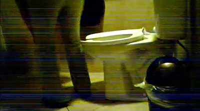 Woman, Hidden toilet, Toilet voyeur, Hidden camera, Hidden cam