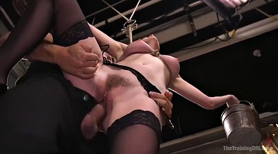 Squirt, Tied, Cumshot, Squirting fuck, Short hair
