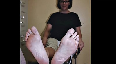 Fetish, Mature feet, Granny feet