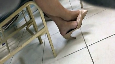 High heels, Milf feet, Candid feet, Tatoo, High, Candids