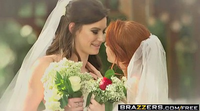 Bride, Brazzers, Bbw anal, Wedding, White ass, Brides