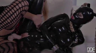 Bdsm, Latex strapon, Punished, Wicked, Submission