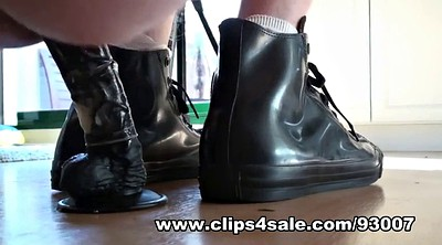 Rubber, Sneakers, Latex rubber, Latex anal, Foot sex, Anal latex